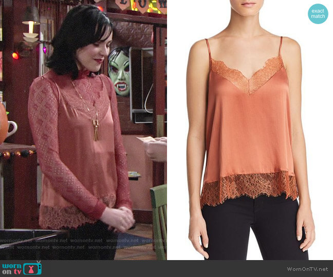 Cami NYC Brooklyn Top worn by Tessa Porter (Cait Fairbanks) on The Young & the Restless