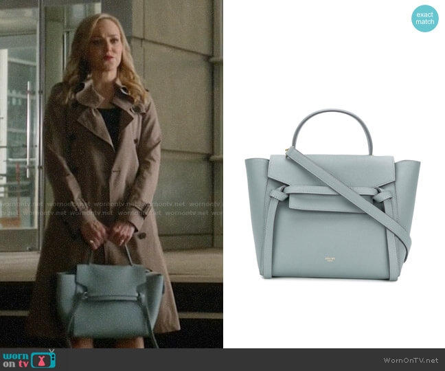 Celine Micro Belt Bag worn by Marissa Morgan (Geneva Carr) on Bull