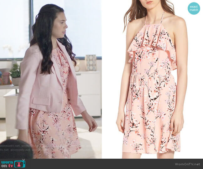 Cupcakes and Cashmere Corralyn Dress worn by Nia Nal (Nicole Maines) on Supergirl