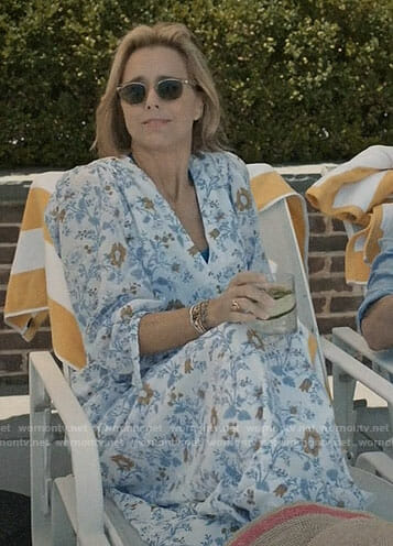 Elizabeth's floral maxi dress on Madam Secretary