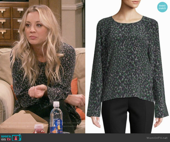 Equipment Abeline Top worn by Penny Hofstadter (Kaley Cuoco) on The Big Bang Theory