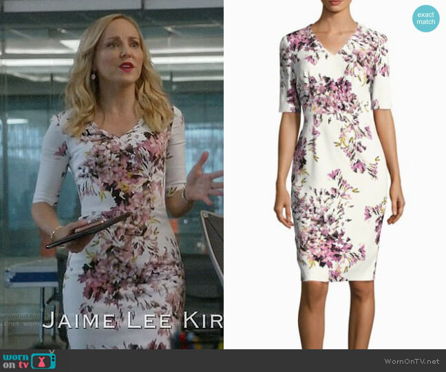 Escada Dnila Dress worn by Geneva Carr on Bull