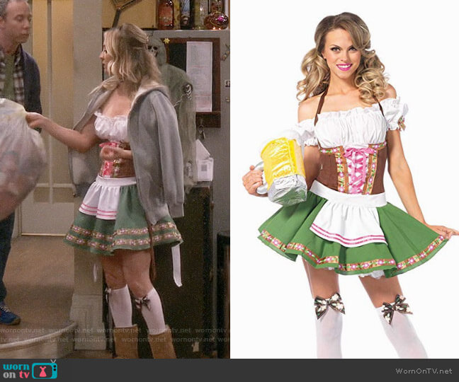 Two-Piece Gretchen Costume worn by Kaley Cuoco on The Big Bang Theory