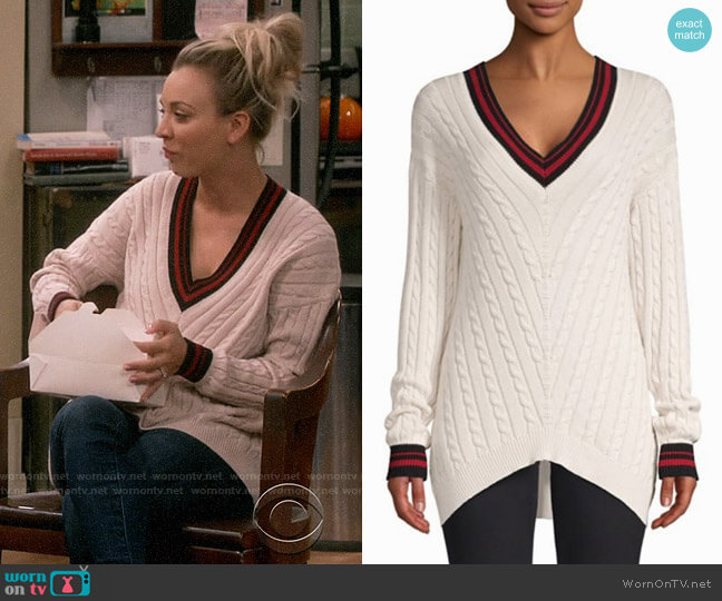 Joie Golibe Sweater worn by Kaley Cuoco on The Big Bang Theory