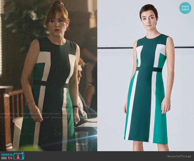 Judith & Charles Camille Dress worn by Molly Ringwald on Riverdale