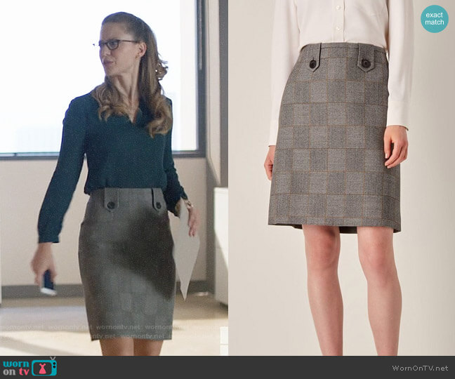 Judith and Charles Richler Skirt worn by Kara Danvers (Melissa Benoist) on Supergirl