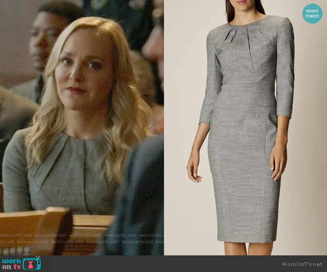 Karen Millen Tailored Dress worn by Marissa Morgan (Geneva Carr) on Bull