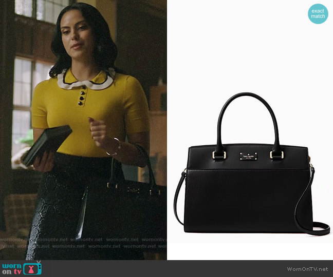 Kate Spade Grove Street Caley Bag worn by Camila Mendes on Riverdale