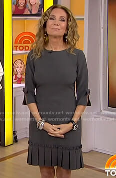 Kathie's grey pleated dress on Today