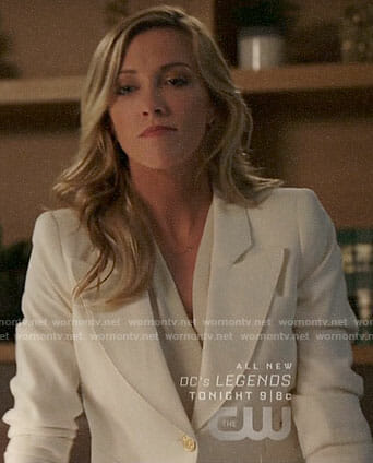Laurel's white blazer on Arrow