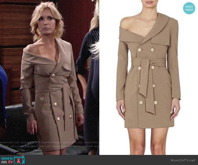Misha Collectoin Jordyn Dress worn by Lauren Fenmore (Tracey Bregman) on The Young & the Restless