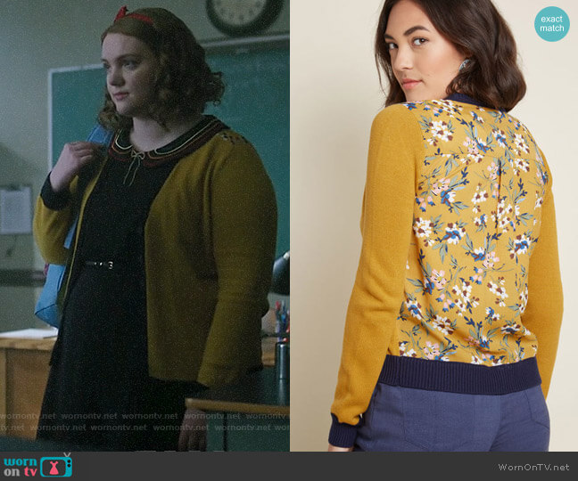 ModCloth Layer Lover Cardigan worn by Ethel Muggs (Shannon Purser) on Riverdale