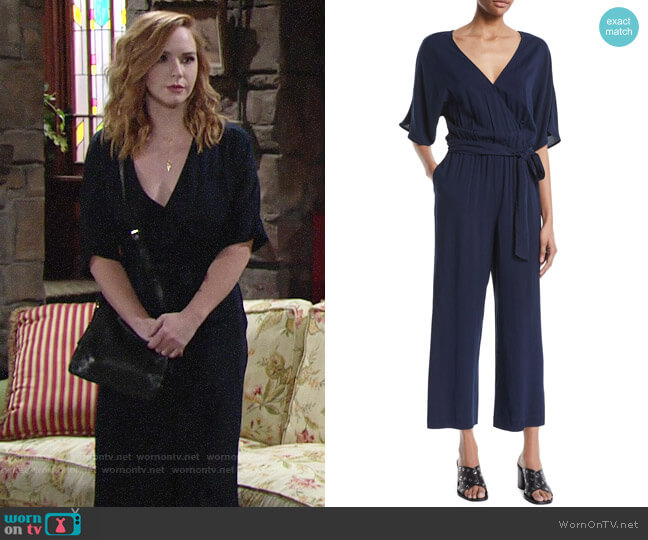 Paige Vanette Jumpsuit worn by Mariah Copeland (Camryn Grimes) on The Young & the Restless