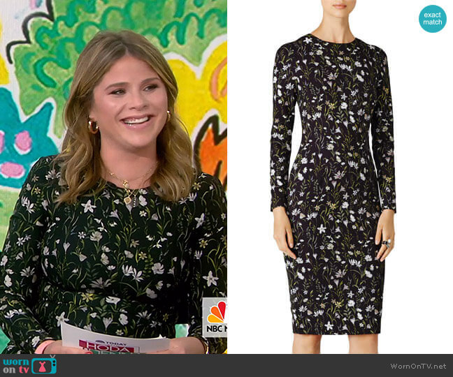 Prairie Dress by Cynthia Rowley worn by Jenna Bush Hager (Jenna Bush Hager) on Today