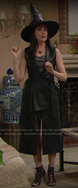 Quinn's Halloween costume on The Bold and the Beautiful