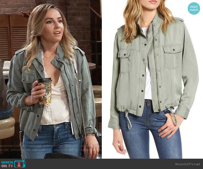 Rails Collins Jacket worn by Lexi Ainsworth on General Hospital