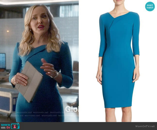 Roland Mouret Ashby Dress worn by Geneva Carr on Bull