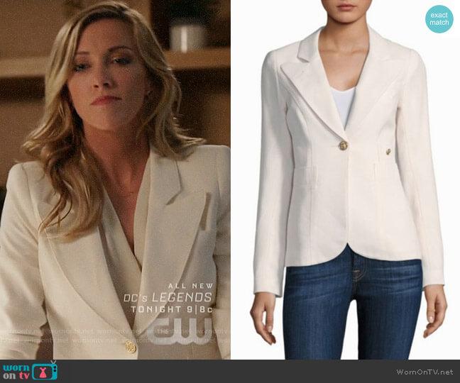 Smythe Duchess Blazer worn by Laurel Lance (Katie Cassidy) on Arrow