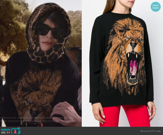 Lion sweatshirt by Stella McCartney