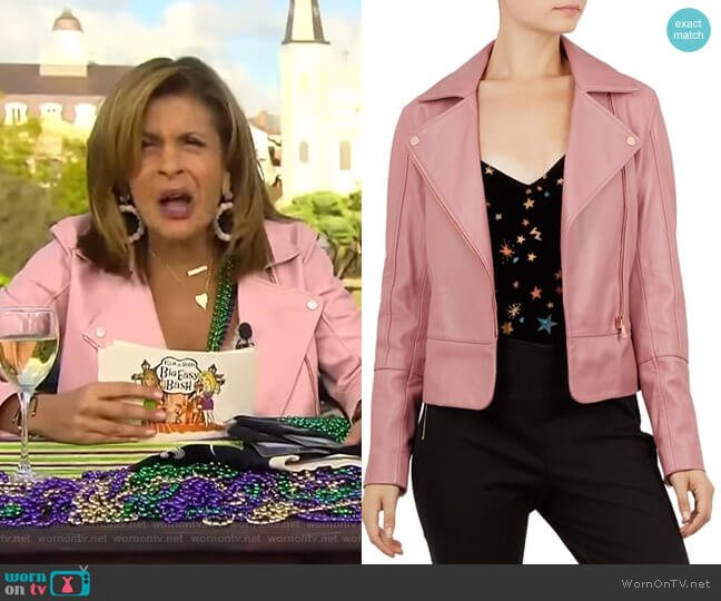 Lizia Jacket by Ted Baker worn by Hoda Kotb  on Today