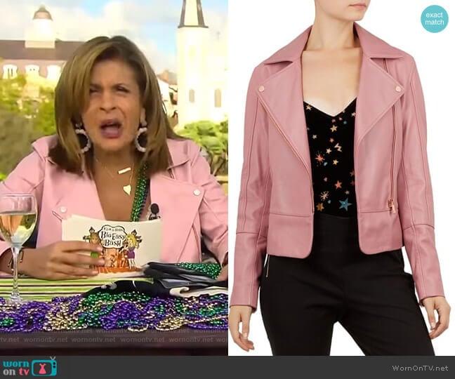 Lizia Jacket by Ted Baker worn by Hoda Kotb on Today