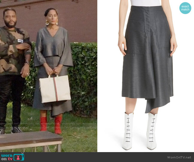 Bo's grey skirt on Black-ish