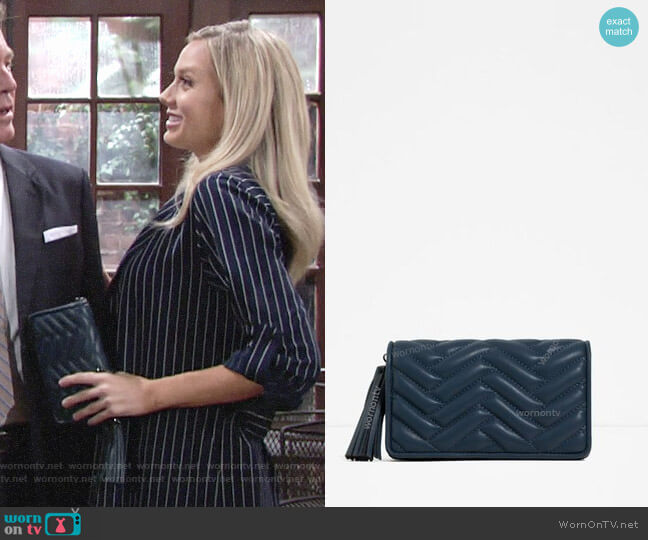 Zara Mini Crossbody Bag worn by Abby Newman (Melissa Ordway) on The Young & the Restless
