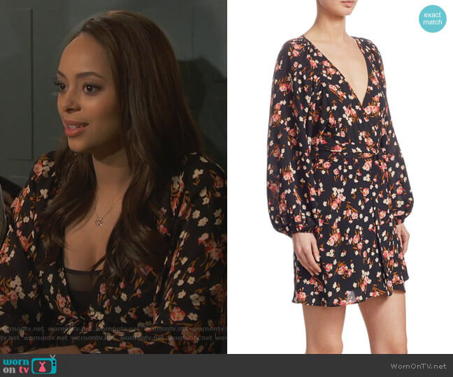 Claire's floral dress on Happy Together