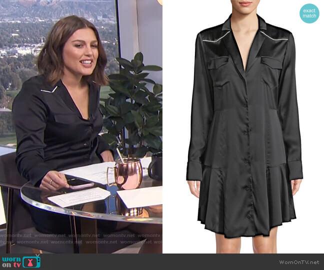 Rora Shirtdress by ALC worn by Carissa Loethen Culiner  on E! News