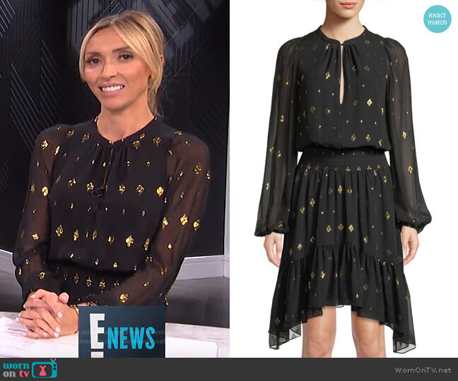 Sidney Dress by A.L.C. worn by Giuliana Rancic (Giuliana Rancic) on E! News