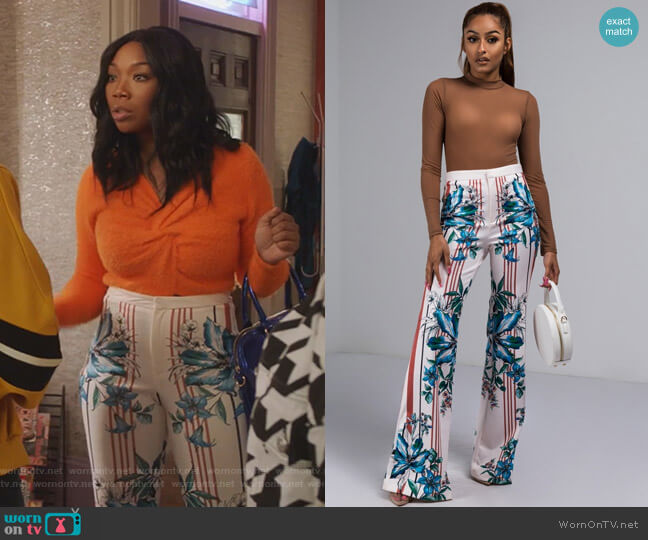 No Shame Pants by Shop Akira worn by Cassie Brown (Brandy Norwood) on Star