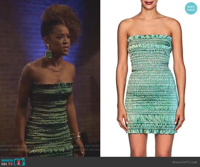 Emily Dress by Area worn by Serayah McNeill on Empire