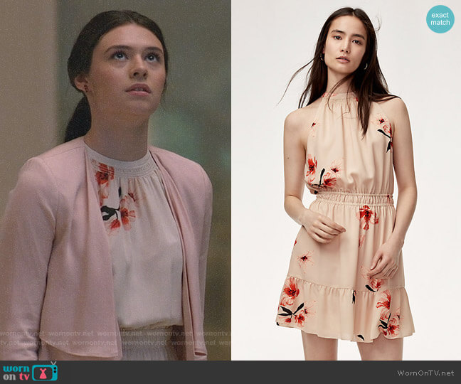 Aritzia Wilfred Effet Dress worn by Nia Nal (Nicole Maines) on Supergirl