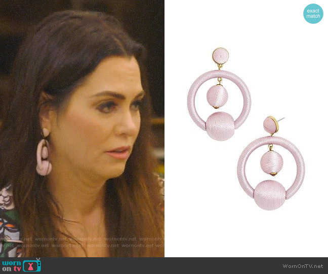 Pavana Drop Earrings by Baublebar worn by D'Andra Simmons (D'Andra Simmons) on The Real Housewives of Dallas