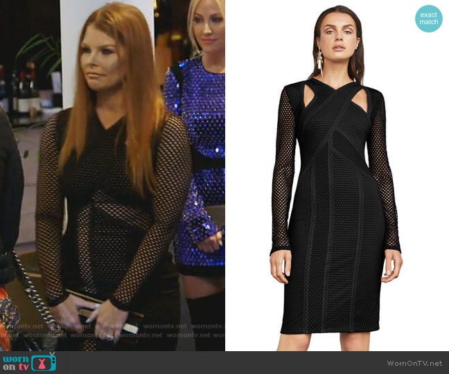 Jaylynn Dress by BCBGMaxazria worn by Brandi Redmond  on The Real Housewives of Dallas
