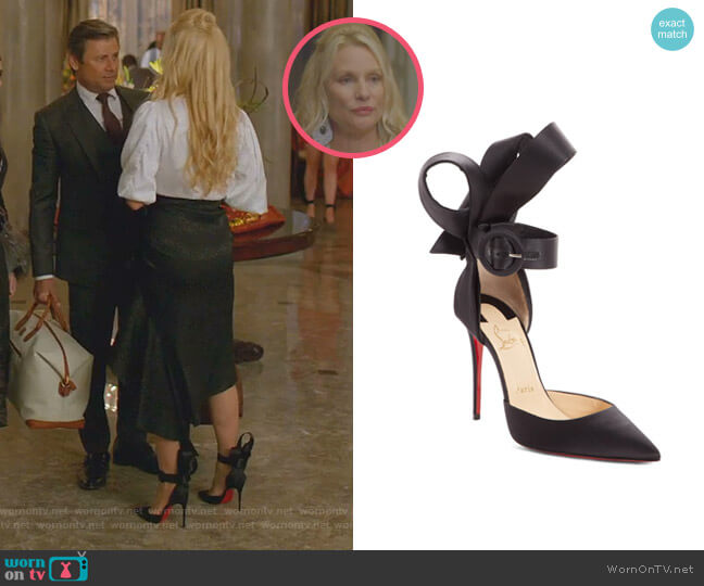 Raissa Pump by Christian Louboutin worn by Alexis Carrington (Nicollette Sheridan) on Dynasty