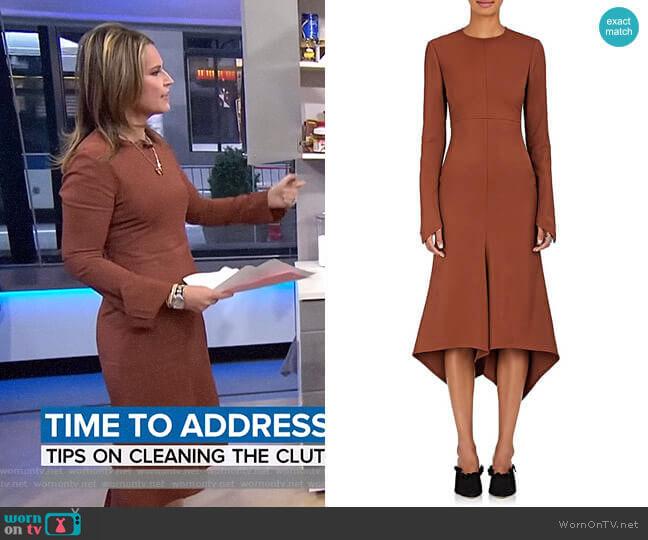 Dani Twill Dress by Sies Marjan worn by Savannah Guthrie  on Today