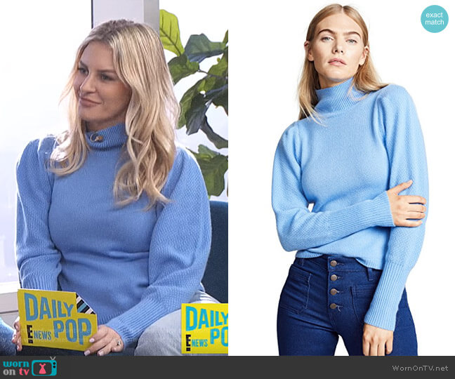 Beatrice Sweater by Diane von Furstenberg worn by Morgan Stewart  on E! News