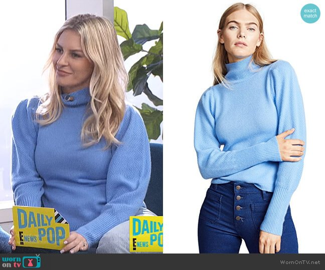 Beatrice Sweater by Diane von Furstenberg worn by Morgan Stewart (Morgan Stewart) on E! News