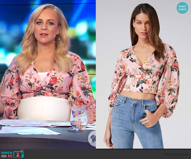 Rime Bis Merino Wool Sweater by Zadig & Voltaire worn by Carrie Bickmore on The Project