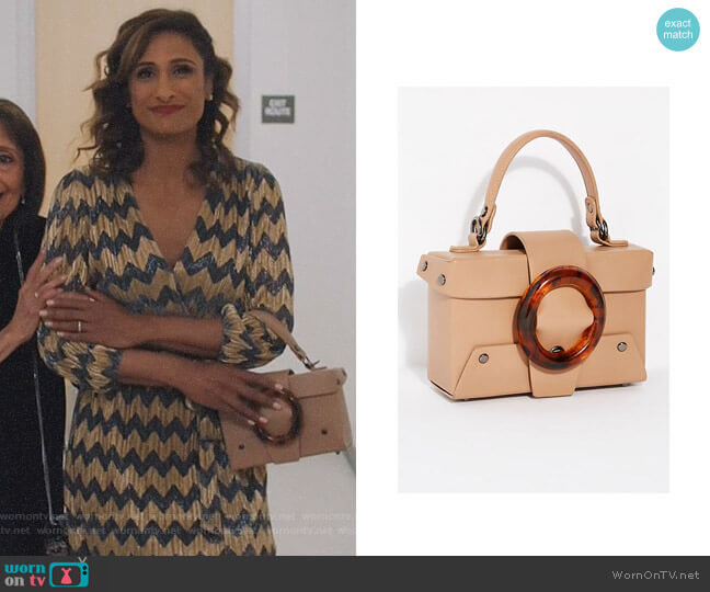 Vienna Mini Tote by Free People worn by Sarayu Blue on I Feel Bad
