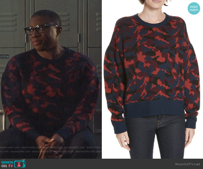 Brycen Sweater by Joie worn by Henrietta Wilson (Aisha Hinds) on 9-1-1