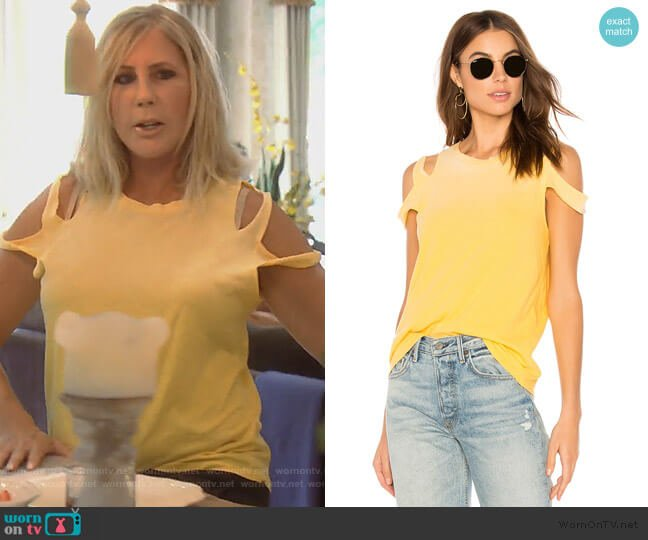 Elijo Tee by LNA worn by Vicki Gunvalson (Vicki Gunvalson) on The Real Housewives of Orange County