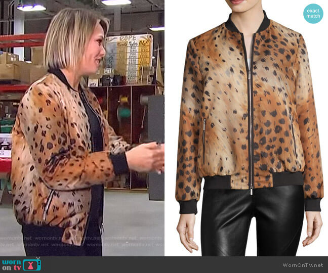Melrose Jacket by Lafayette 148 New York worn by Dylan Dreyer (Dylan Dreyer) on Today