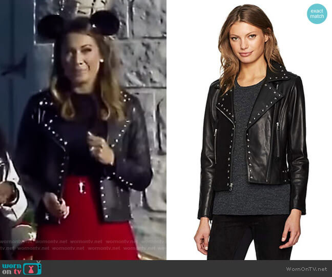 Easton Jacket by Parker worn by Ginger Zee  on Good Morning America