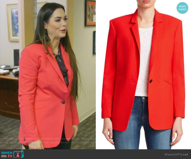 Ridley Jacket by Rag & Bone worn by D'Andra Simmons  on The Real Housewives of Dallas