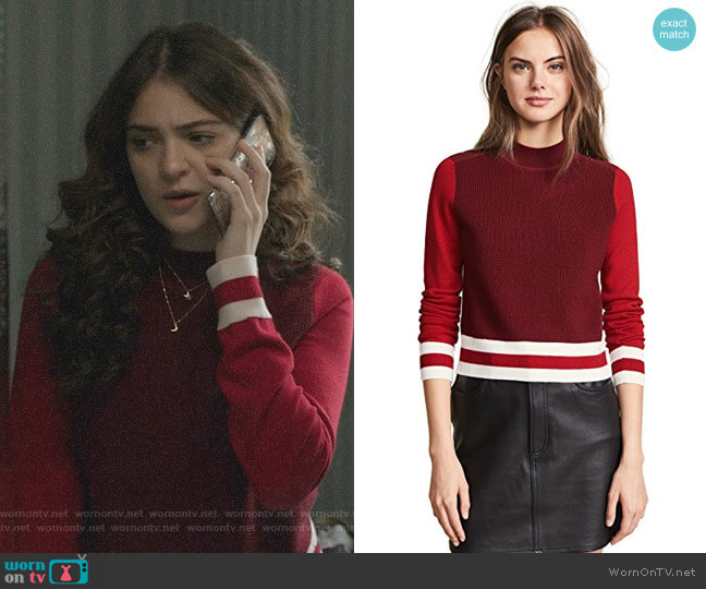 Dean Sweater by Rag & Bone/JEAN worn by Olive Stone (Luna Blaise) on Manifest