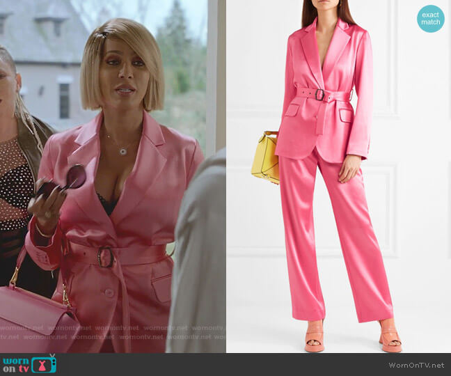Terry Balzer and Tatum Pants by Sies Marjan worn by Nicole Ari Parker on Empire