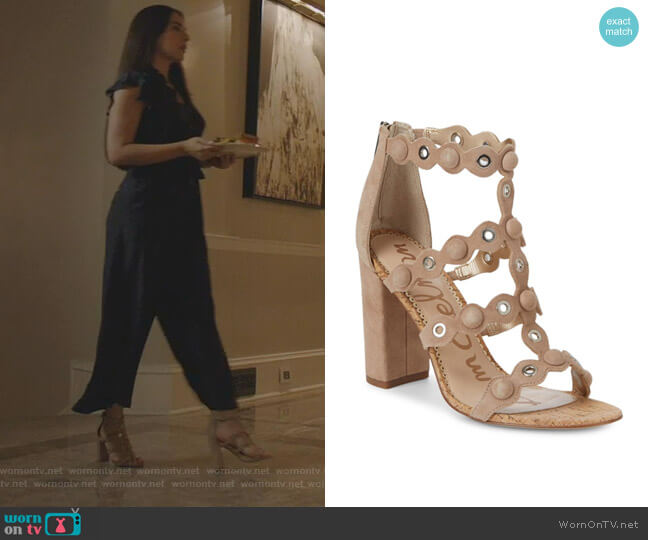 Yuli Pumps by Sam Edelman worn by Cristal Jennings (Ana Brenda Contreras) on Dynasty