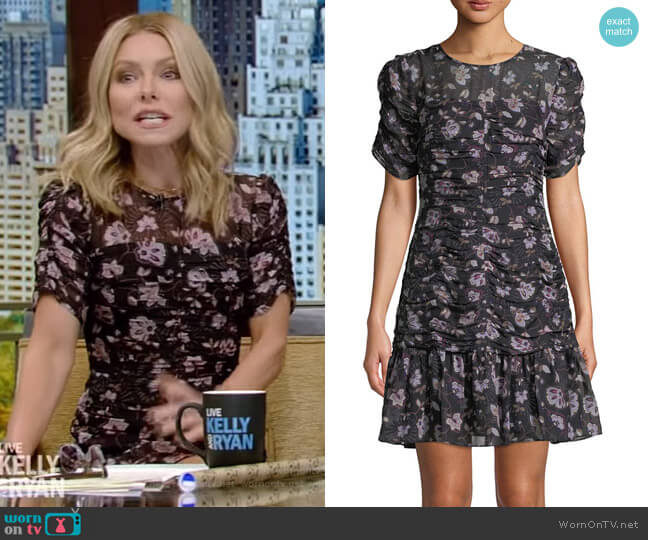 Kayleigh Dress by Shoshanna worn by Kelly Ripa  on Live with Kelly & Ryan